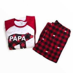 CHILDREN'S PLACE | Matching Bear Buffalo Pyjamas